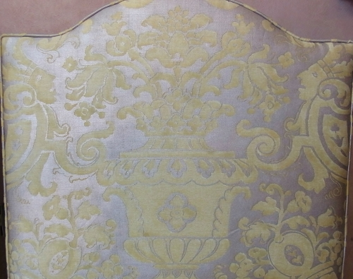 Fortuny wallpaper how to stencil a fortuny silk damask wall design fortuny wallpaper sisterspd