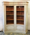 Louis XVI Style Concave Book/Display Case