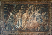 Exceptional 17th C. Aubusson Mythological Tapestry