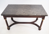 French Empire Style Coffee Table