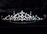 Belle Epoque platinum and diamond set Tiara/Necklace