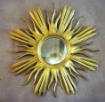 Fine Early 19th Centlury Gilt Sunburst Mirror