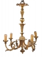 Small French 19th Cent. Gilt Bronze Chandelier