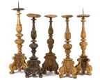 18th Century Italian Candle Prickets