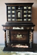 Italian Ivory Panelled Cabinet on Stand