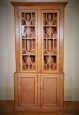 George III Irish Pine Bookcase